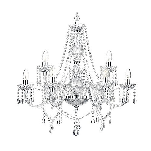 Mossi®  - Modern 2-Tier Contemporary Elegant Crystal Glass Chandelier