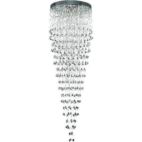 Galaxy Collection 16-Light Large Hanging Fixture Strass/Elements Swarovski