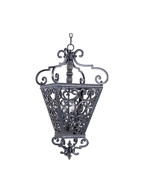 Maxim Lighting - 2938KB - Southern - Eight Light Entry Foyer Pendant