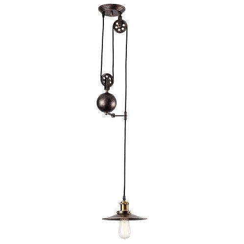 Edison Adjustable Retro Rustic /Vintage Pendant Light Industrial Pulley