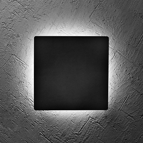 Modern Cue- Square 45cm Weather-proof Wall Sconce 120v