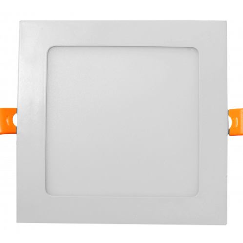 ELS Canada - 6 Inch LED Square Slim LED Pot Light, 15W