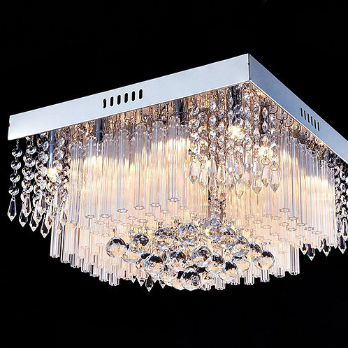 Crystal Rain Drop Chandelier Modern & Contemporary flush-mount