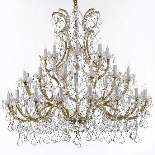 Maria Theresa Majestic - CHANDELIER CRYSTAL CHANDELIERS LIGHTING 52X46