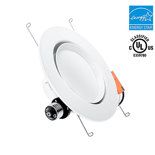 "Gimbal 6""-Inch LED Rotatable Gimbal Downlight (5""-Inch Compatible), Dimmable"