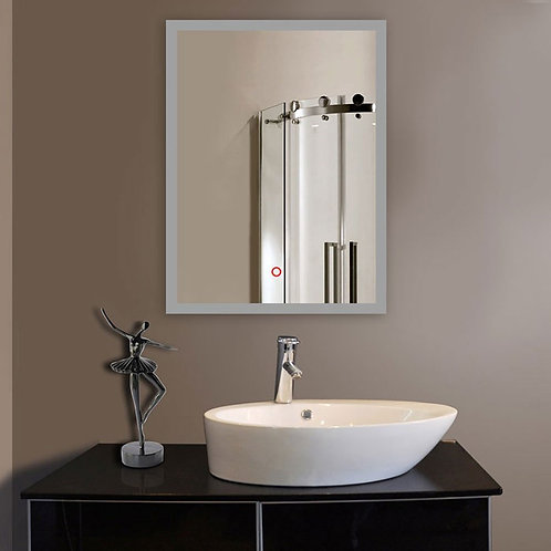 DECORAPORT 24 Inch * 32 Inch Vertical LED Bathroom Mirror Wall Mounted Light