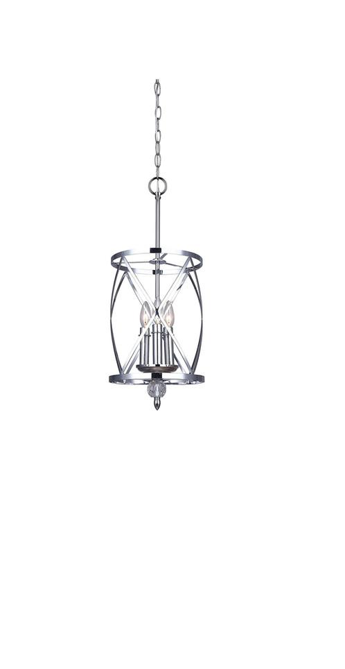 canarm lighting vanessa 3 light chandelier chrome elite