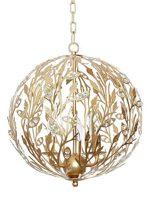 Cinderella Golden orb Chandelier/Pendant light fixture