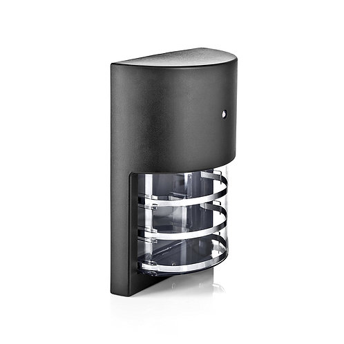 Modern Cue - Sleek Photocell day-night sensor Outdoor Wall Sconce