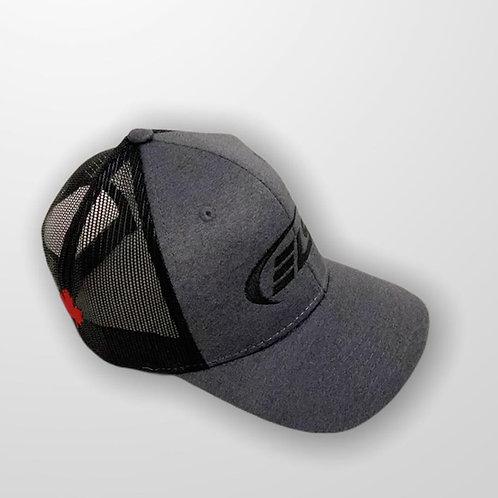 ELS Canada | Stealth Adjustable Black Trucker hat