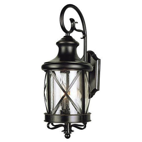Rob 2-Light  19 Inch Coach Lantern, Rubbed Oil Bronze / Indoor / Outdoor