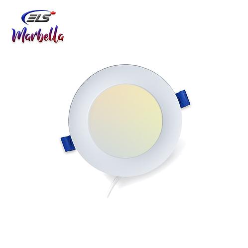 "ELS Canada - Marbella   4"" Fine Downlight   3CCT ""SW"" Mode   850Lumens 9Watts"
