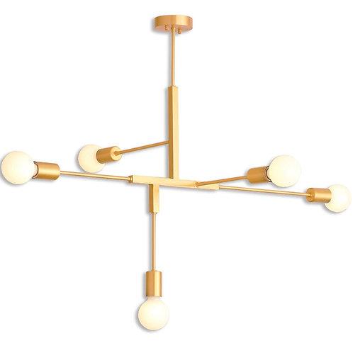 Azteca - Imperial Gold 5 Light chandelier