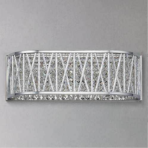 Cosmo collection - Crystal 3 light vanity light