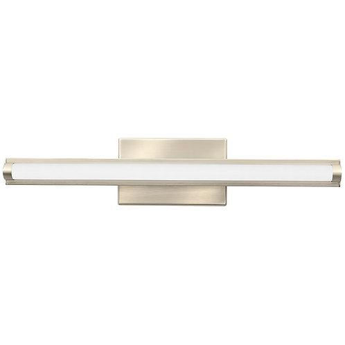 Lithonia Lighting Contemporary Arrow  LED Vanity Light, 2-Foot, Brushed Nickel