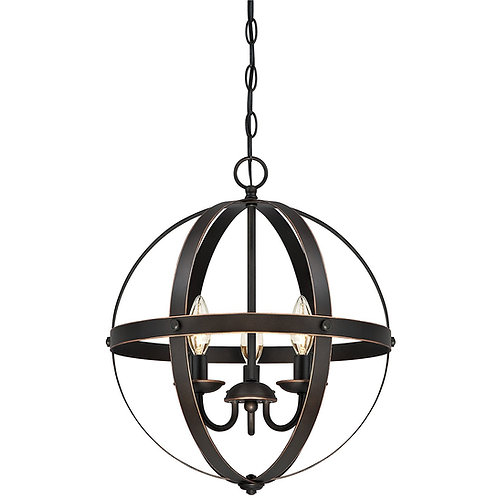 Trans Globe Lighting - 70596 ROB - Old World Sphere - Six Light  Pendant