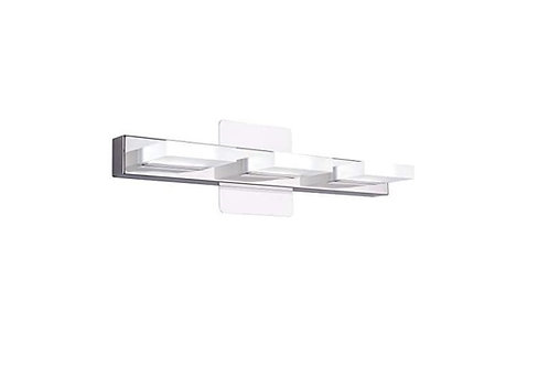 Mire - Modern LED Vanity 3 Light in Acrylic Stainless Steel 16w