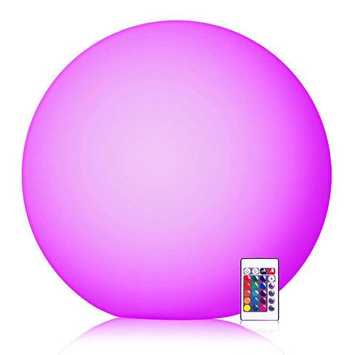 "Illumilife - 6"" Small to 16"" Large RGB Weather-Proof LED Ball"