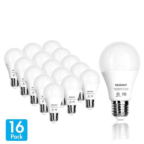 (Pack of 16) Premium LED Light Bulbs, 60 Watt Equivalent (9W)