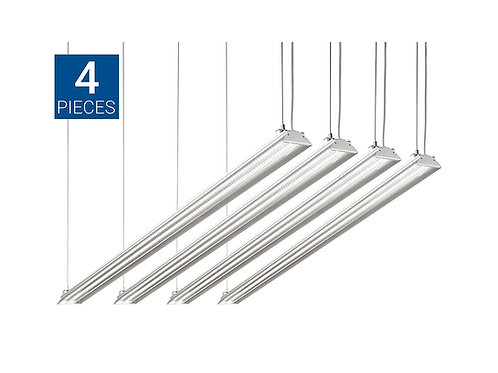 Extra duty - 4FT Integrated LED Fixture, 35W (100W Eq.) (4PACK)