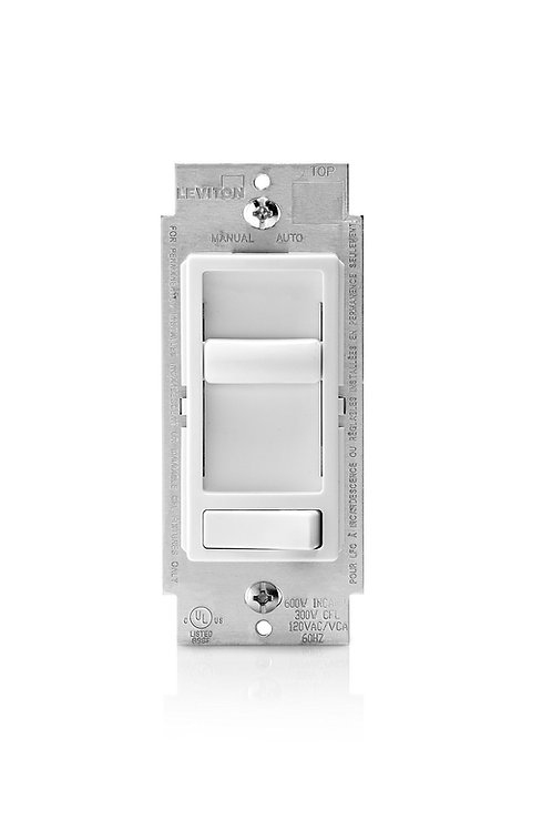 Leviton Sure-Slide Universal LED/CFL Dimmer Switch- Model 6674-P0W /150W