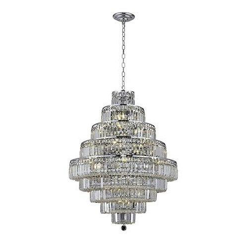 Maxim Collection  - Swarovski Strass/Elements Crystals 28-Light Chandelier