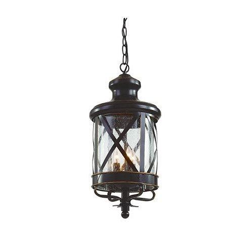 20 inch Rob Outdoor 3 light Pendant/ Chandelier Bel Air Lantern
