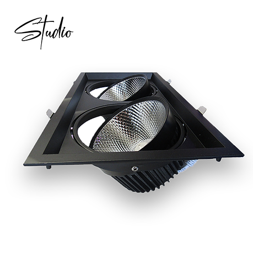 "Studio DuoCore - 4"" LED integrated Recessed lighting 2 Head"