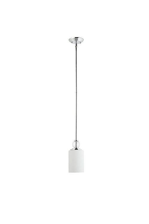 Globe Electric -  Single Light Hanging Pendant Light Fixture with Frosted Glass