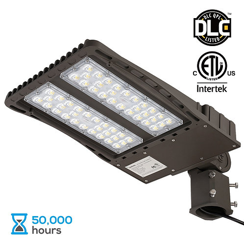 18000lm Ultra Bright LED Parking Lot Light with Photocell, 150W (450W Equiv.)