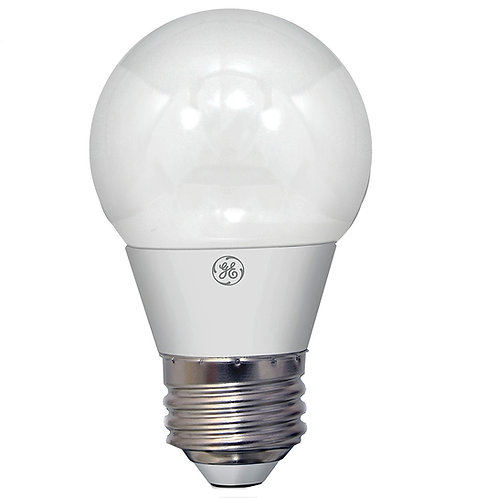 GE Lighting - LED A15 Bulb with Medium Base, 6.5W, (60W replacement) Soft White