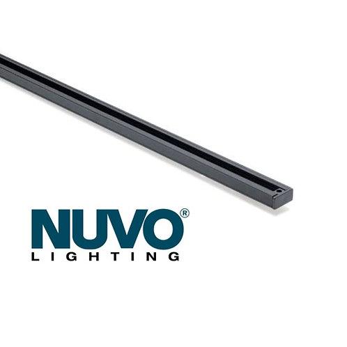Nuvo Lighting TR121 4-Feet Track Rail, Black