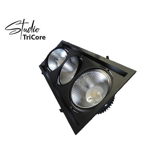 """Studio TrioCore - 4"""" LED integrated Recessed lighting 3 head"""