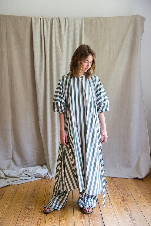 CLARA Kleid gestreift