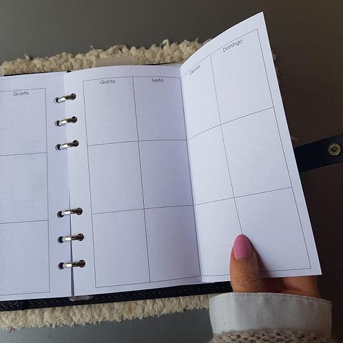 [Personal] Uma semana em duas páginas vertical com dobra EC
