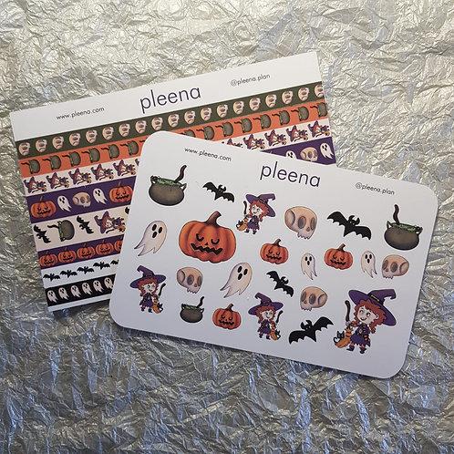 Kit Adesivo Halloween