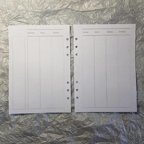 [A5] Semana em duas páginas vertical coluna