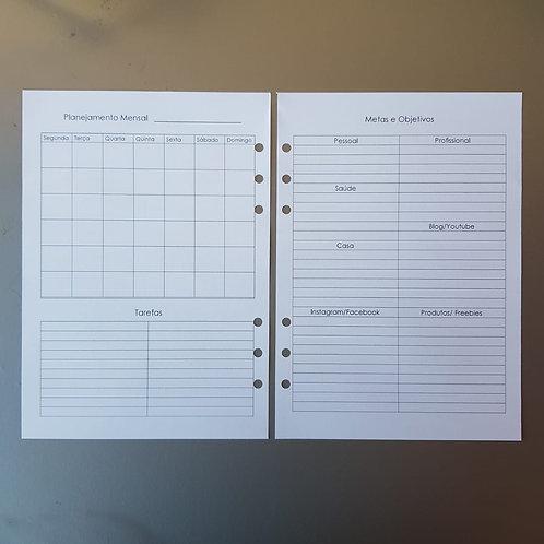 [A5] Planejamento mensal de metas e objetivos