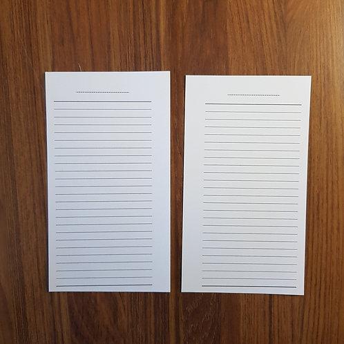 [Personal] Lista de tarefas/notas