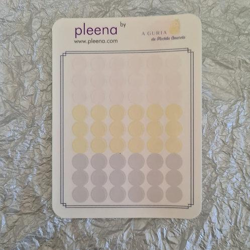 Círculos transparentes (colab A Guria da Mochila Amarela)