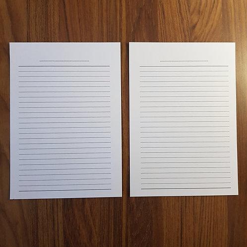 [A5] Lista de tarefas/notas em A4