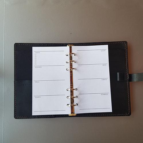 [Personal] Uma semana em duas páginas horizontal