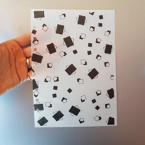 [A5] Velum decorativo caixas