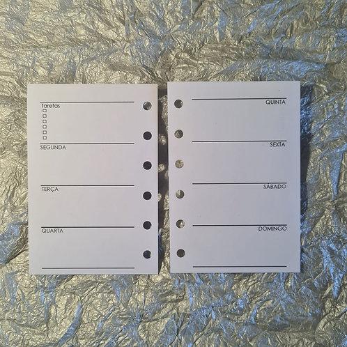 [Pocket] Uma semana em duas páginas horizontal