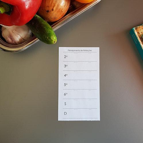 [Personal] Planejamento de refeições simples em personal