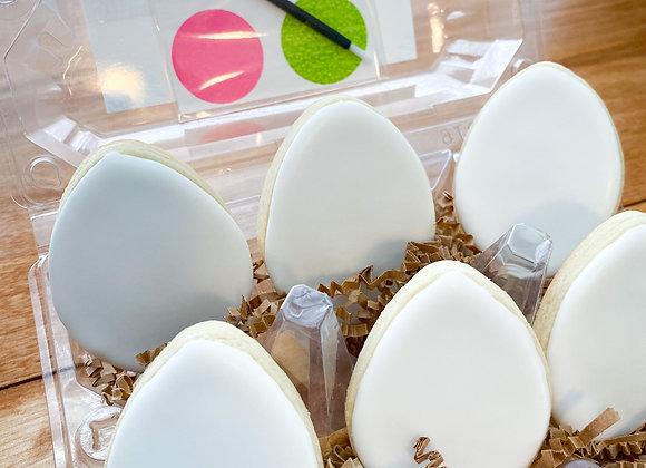 PYO Easter Egg Cookies