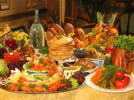 Свадебные блюда разных народов
