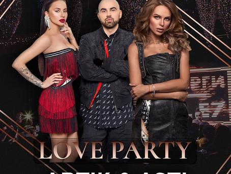 Четверги Emil E7 Love party: Artik & Asti и Ханна