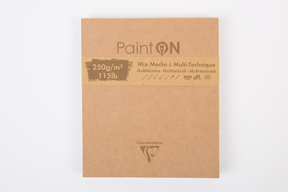Clairefontaine Paint ON Mix Media