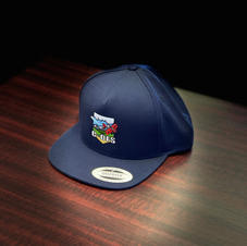 Snapback Flat Brim Hat